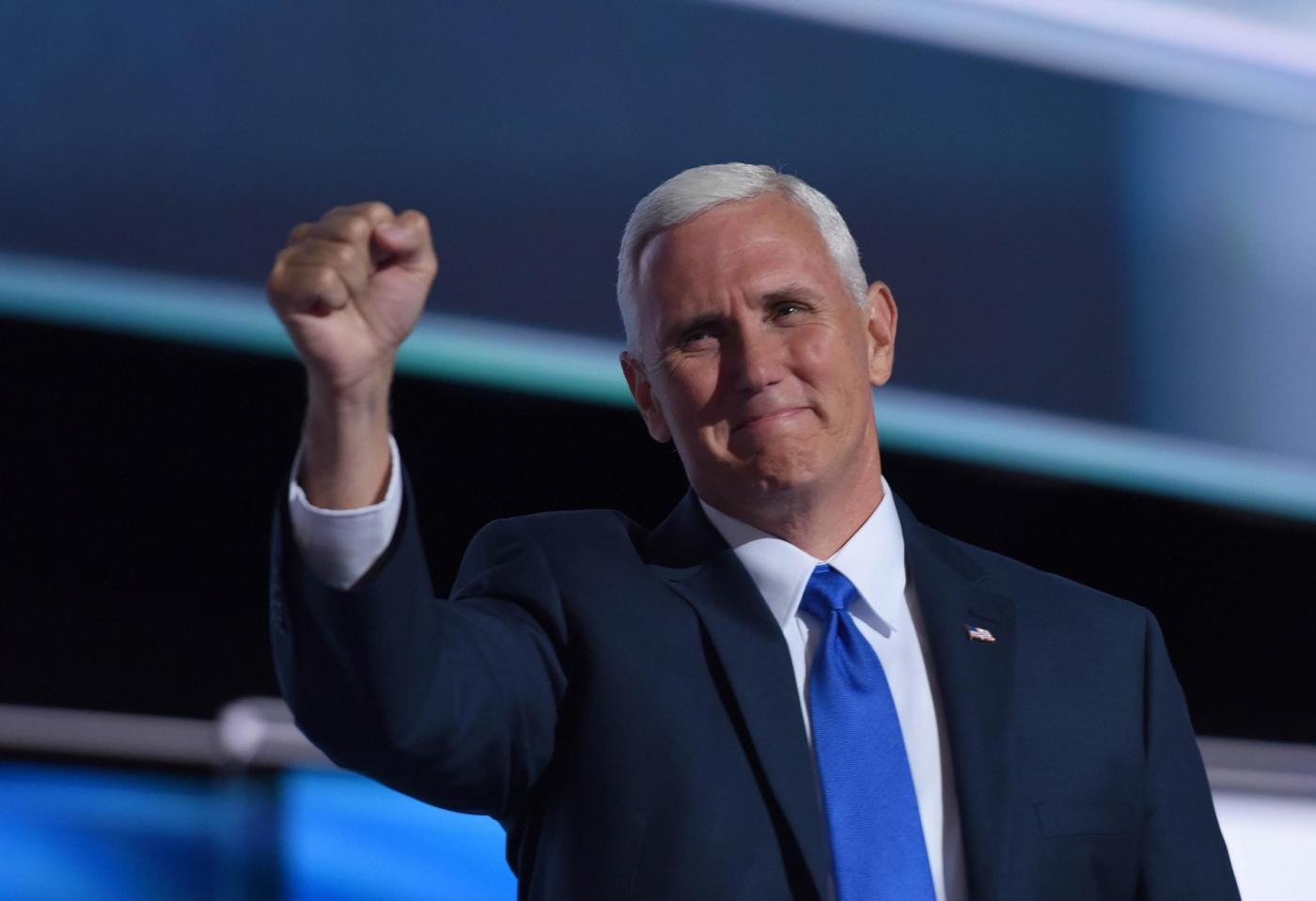 U.S. PRESIDENTIAL ELECTIONS VICE PRESIDENT ELECT MIKE PENCE FILE