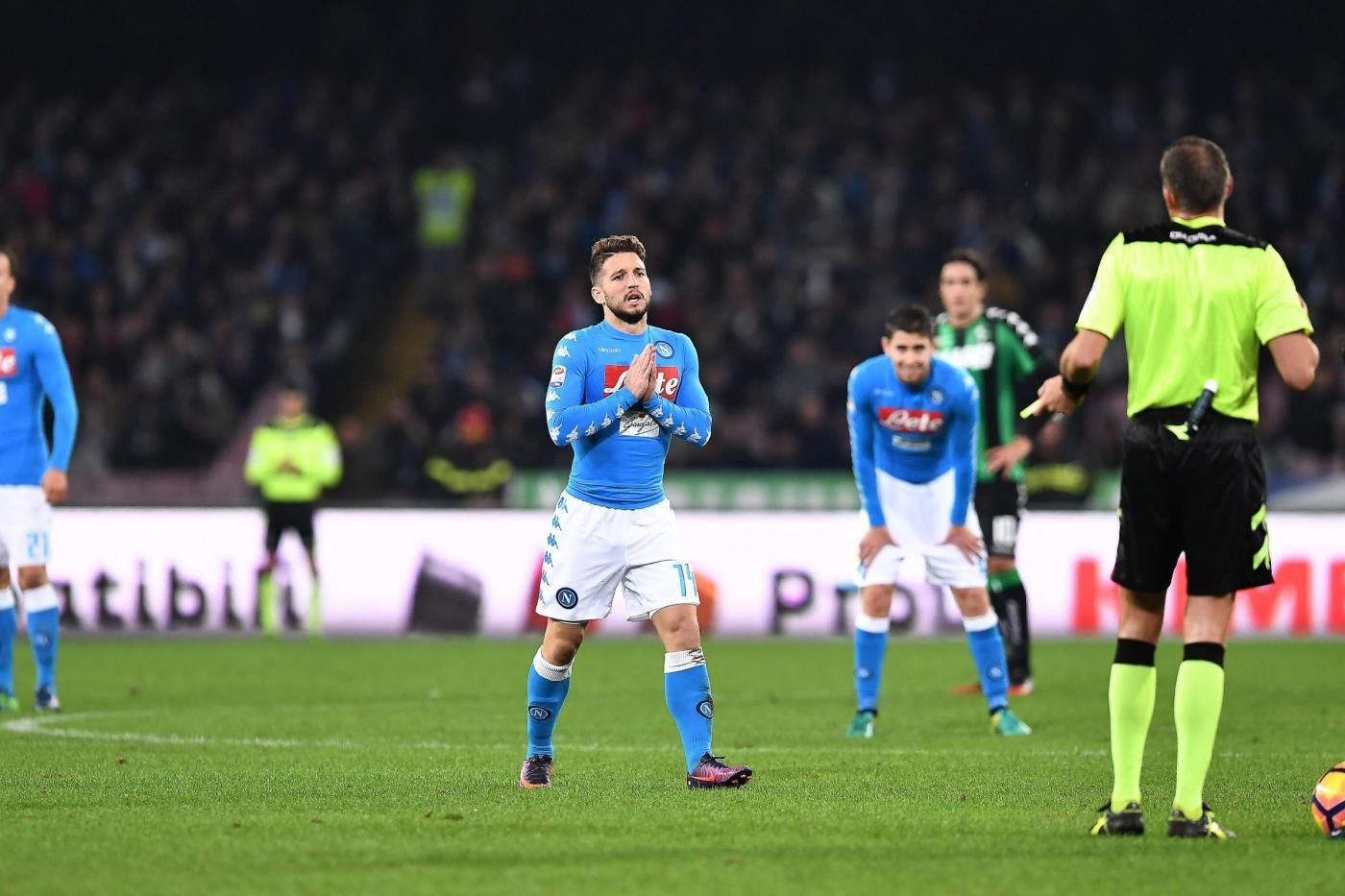 Il Napoli non approfitta del ko della Juventus