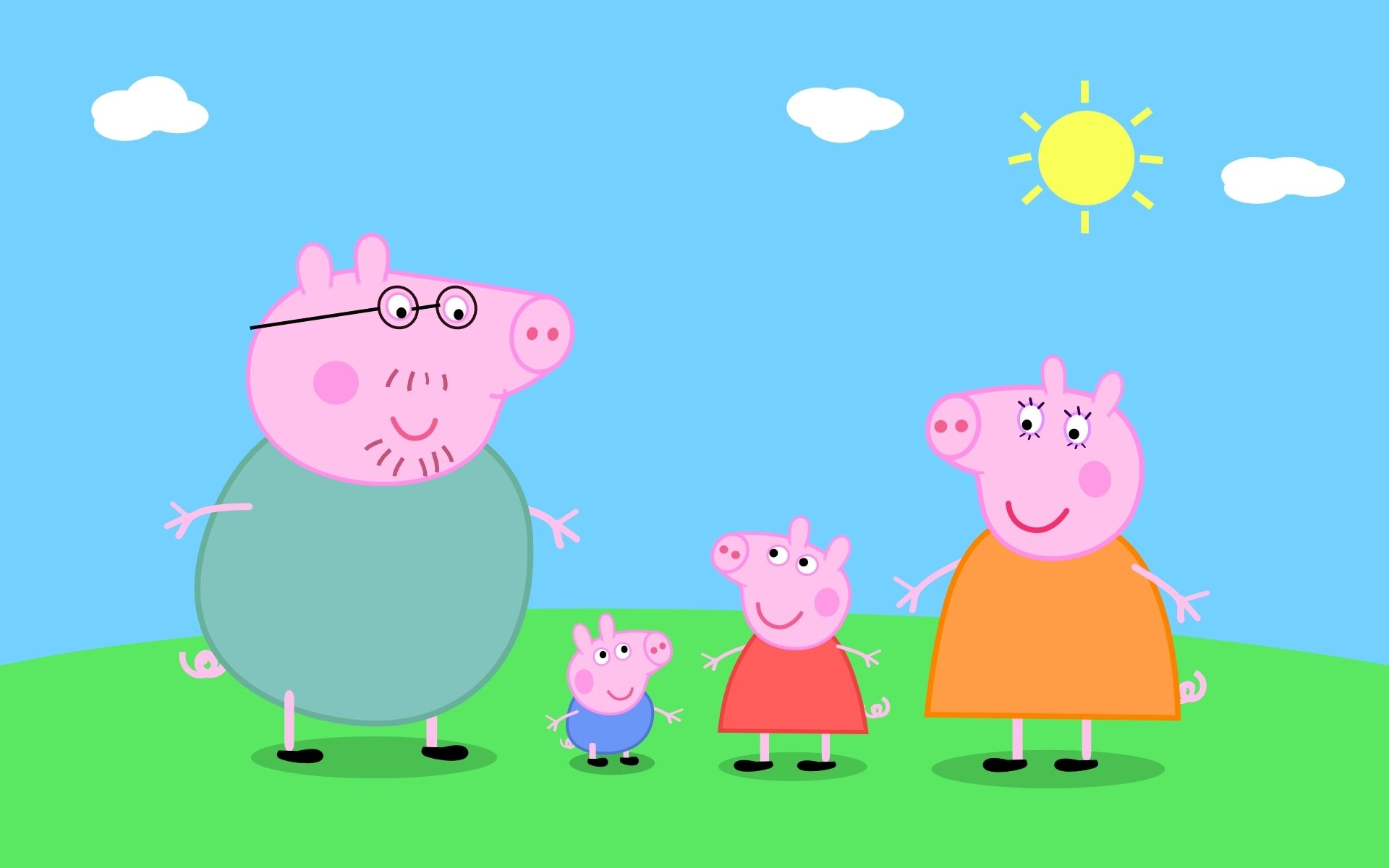 Peppa Pig in giro pe ril mondo