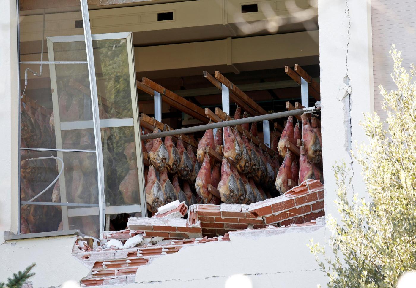 Norcia immagini dal disastro del sisma