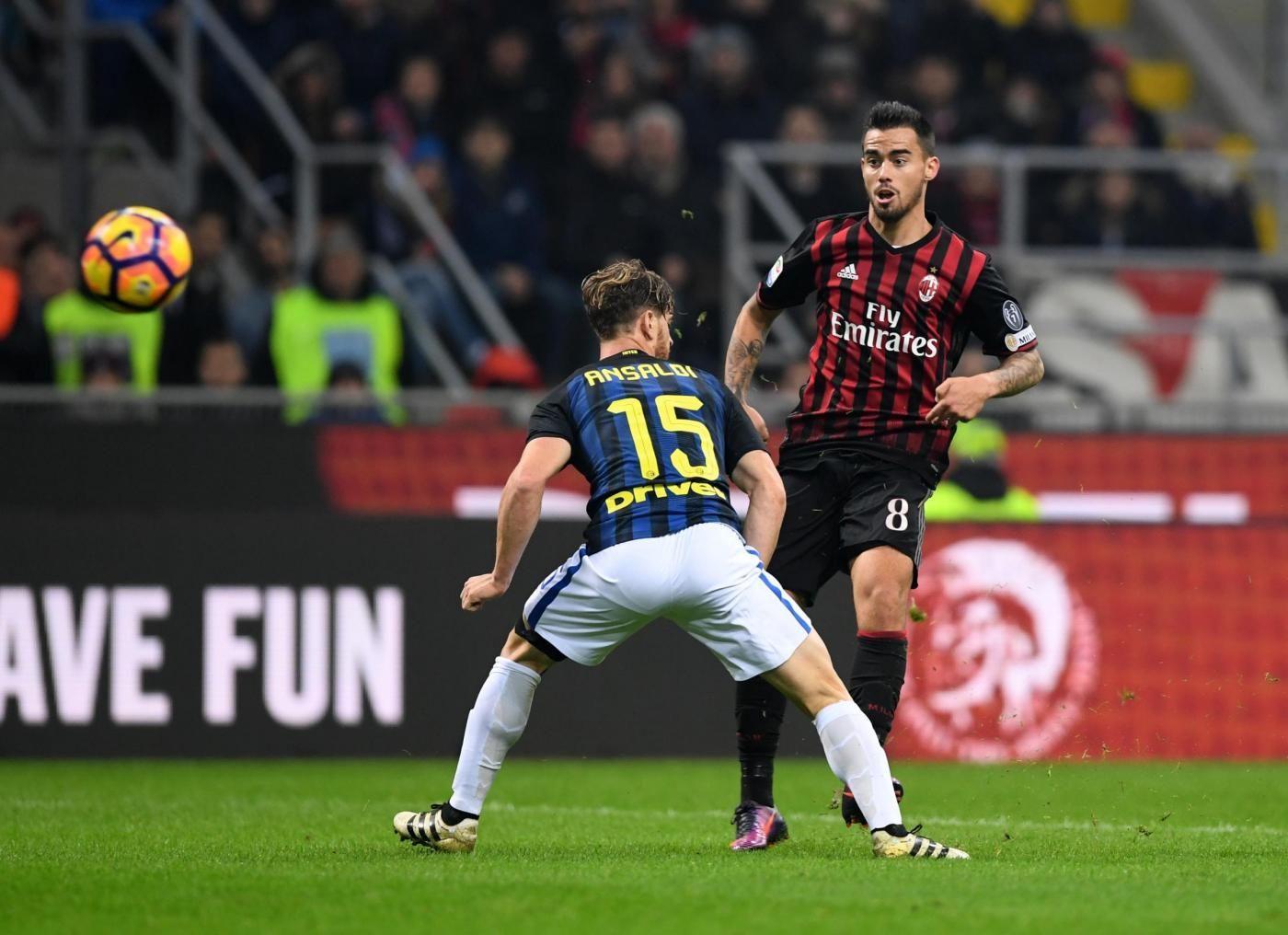 Calcio, Serie A: finisce in pareggio 2 2 il derby di Milano
