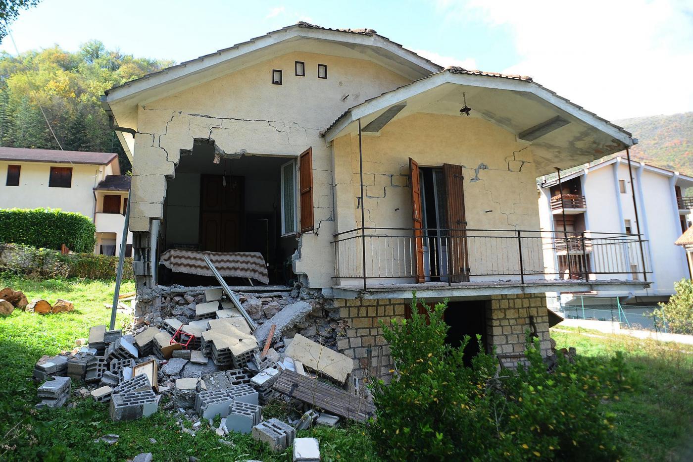 Terremoto centro Italia, Errani e Curcio ad Ussita