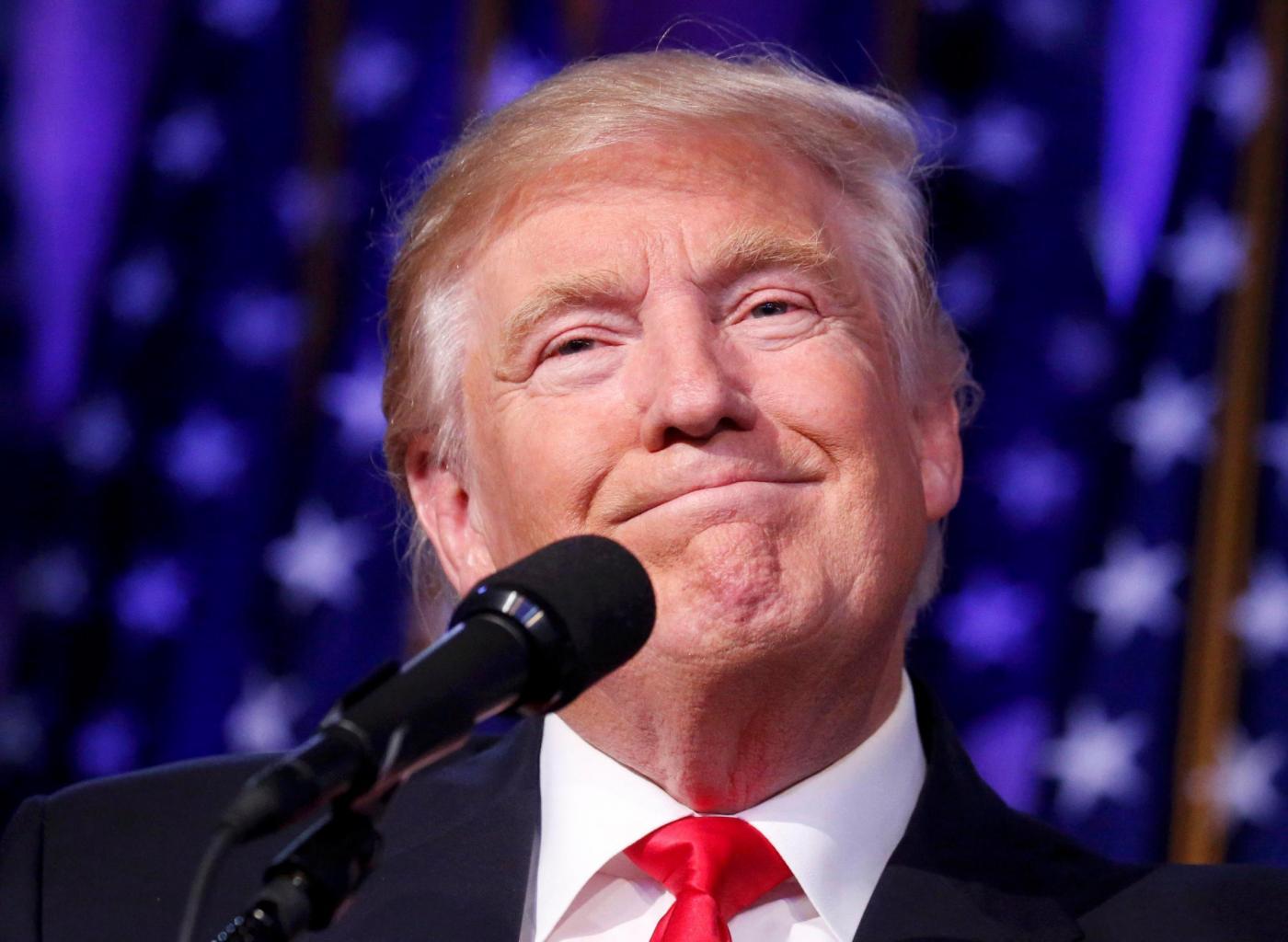 Usa 2016, Donald Trump presidente Stati Uniti