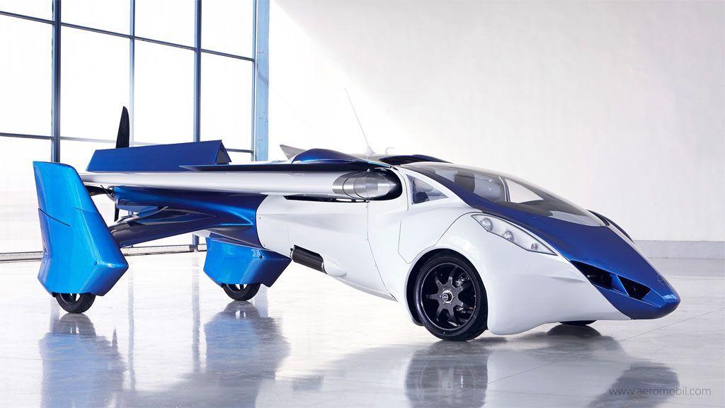 L'automobile volante: AeroMobil prova a decollare e ce la fa