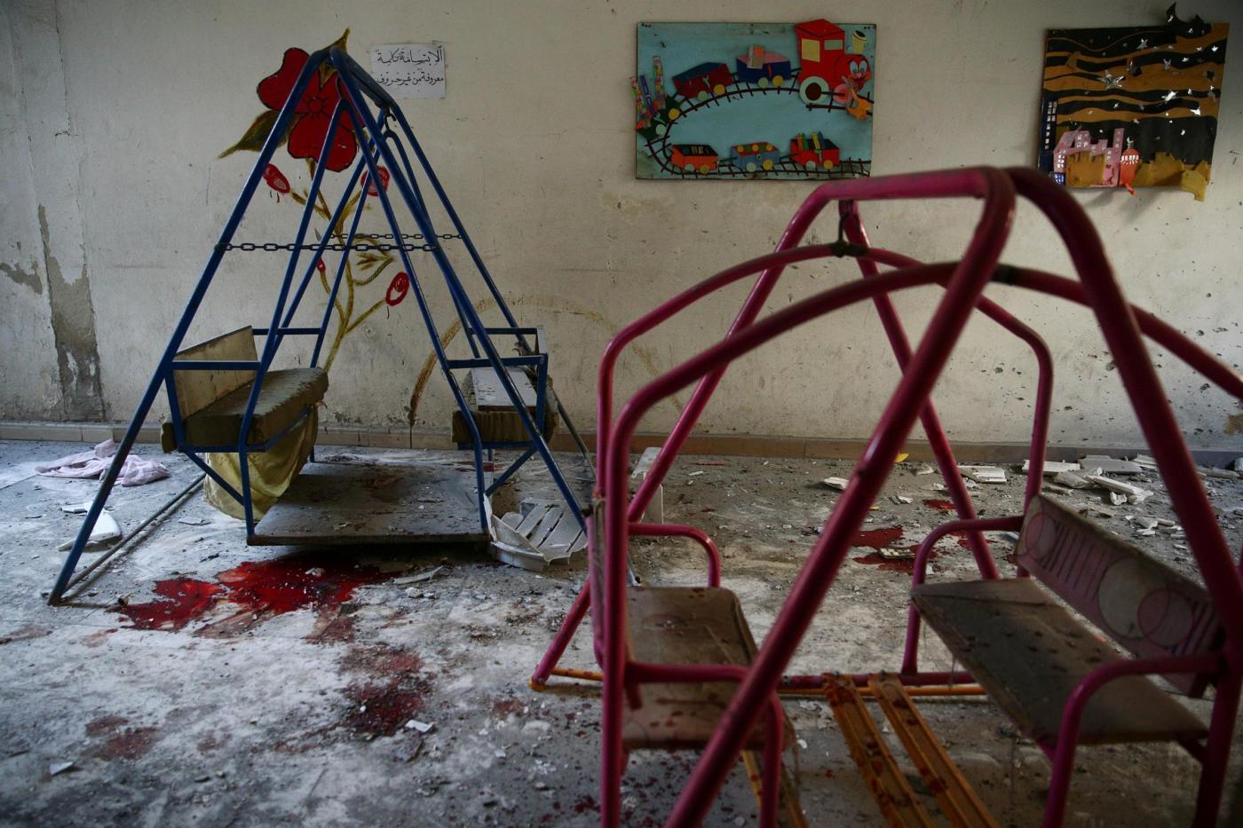Siria, attaccata scuola materna a Damasco