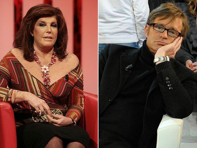 Patrizia De Blanck e Filippo Facci: lite con parolacce a Domenica Live