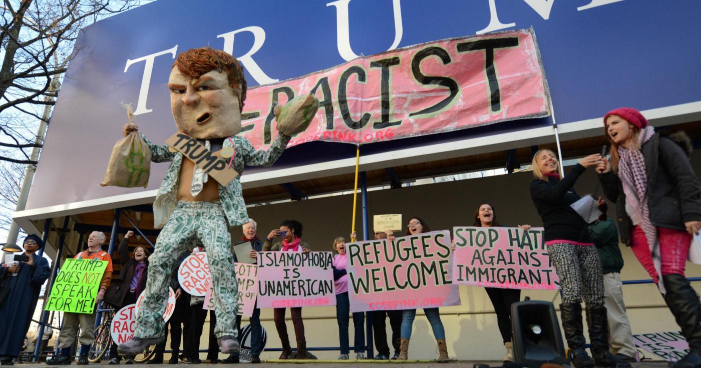 U.S. WASHINGTON D.C. PROTEST DONALD TRUMP