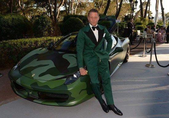 Lapo Elkann Ferrari 458 italia