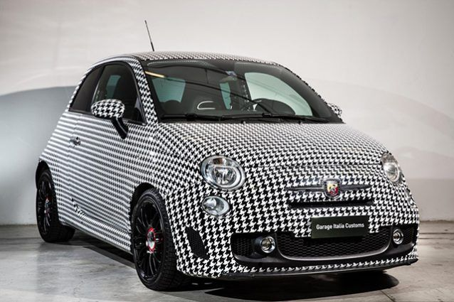 Lapo Elkann Fiat 500 Abarth