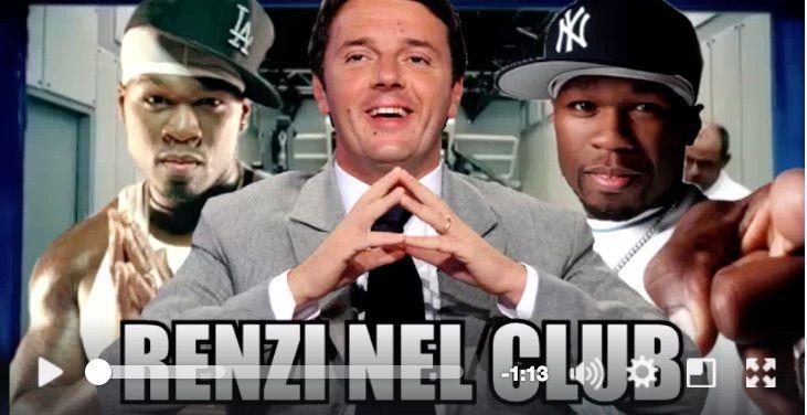 Renzi nel club, la nuova parodia rap del premier che fa impazzire il web