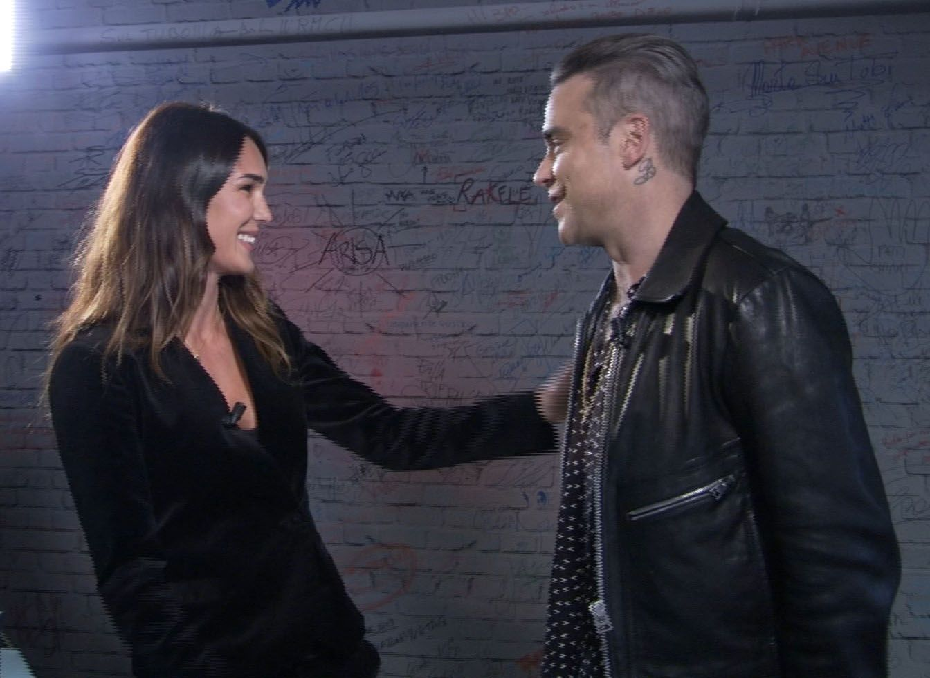 Robbie Williams a Verissimo: 'Sono una persona timida e sensibile'