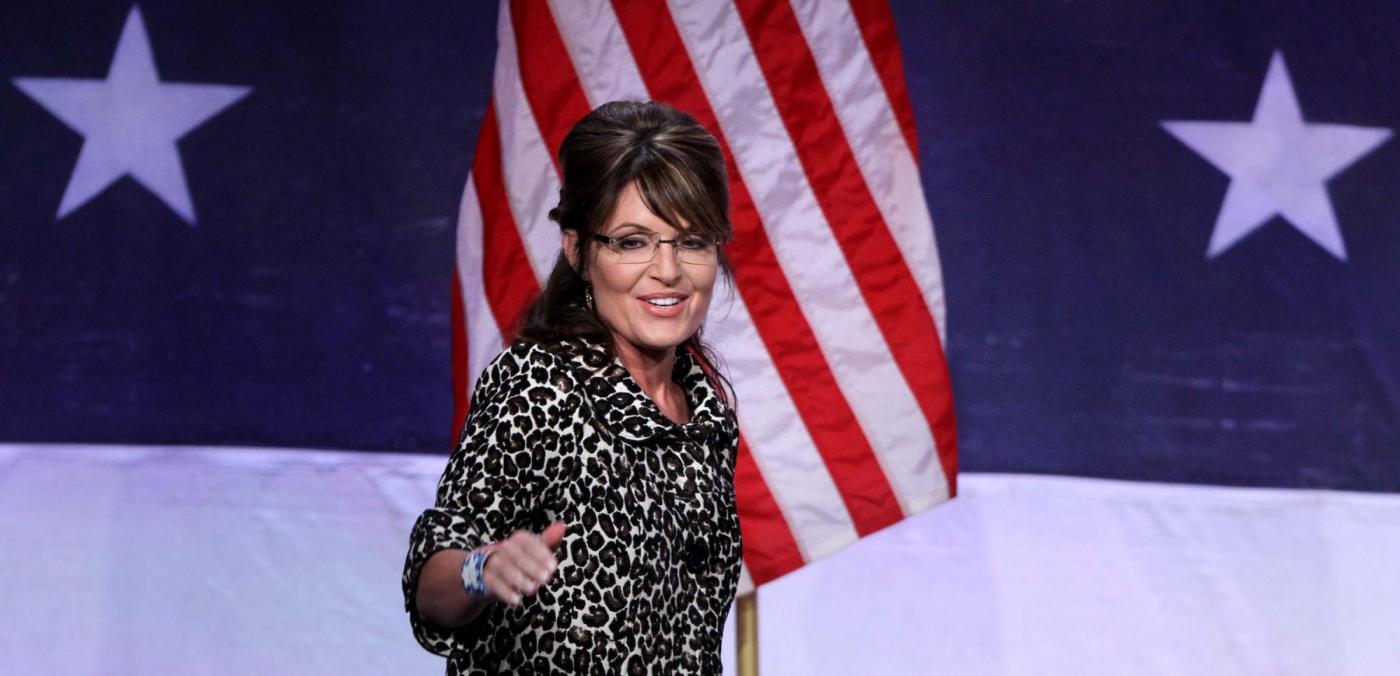 Sarah Palin si rivolge Partito Repubblicano