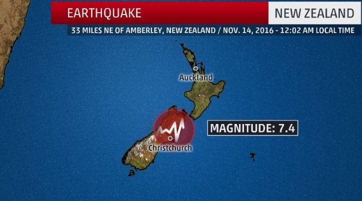 Terremoto Nuova Zelanda, scossa di magnitudo 7.4: allerta tsunami