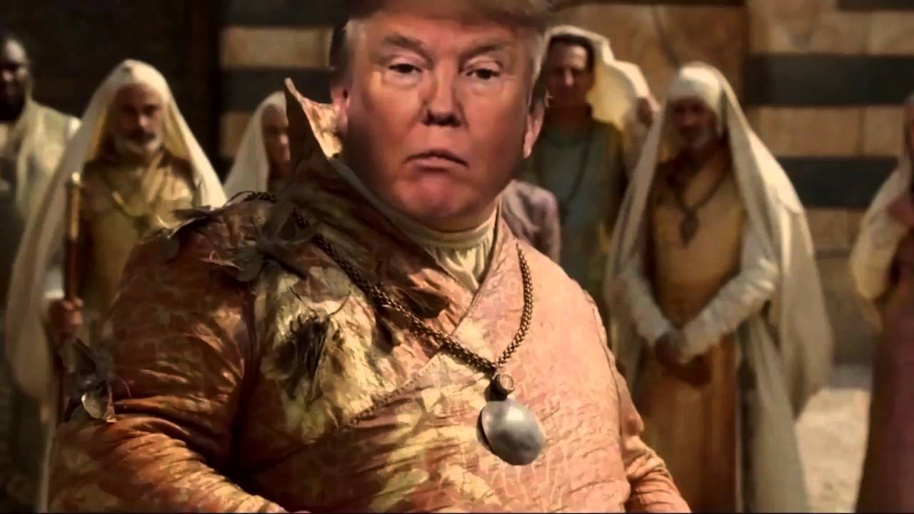 trump in game of thrones