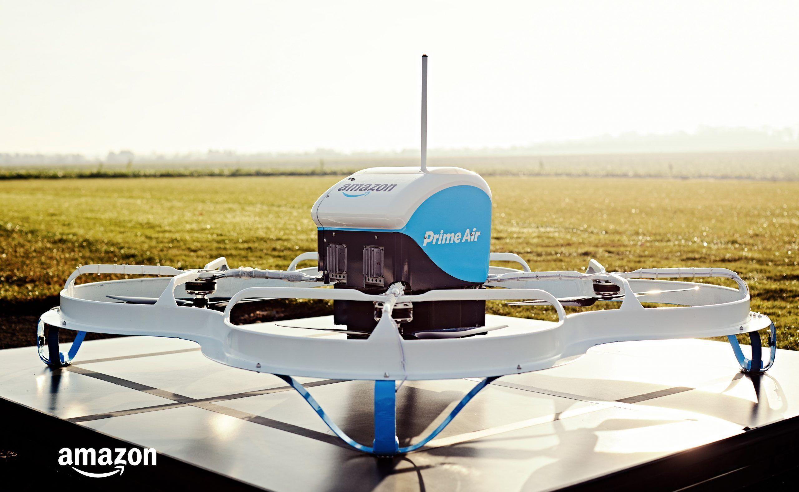 Amazon Prime Air prima consegna