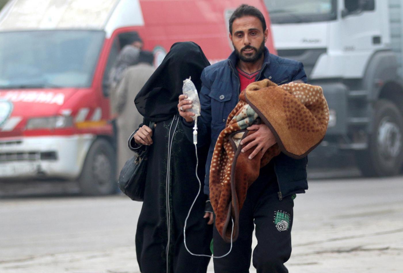 Aleppo, ripresa l'evacuazione