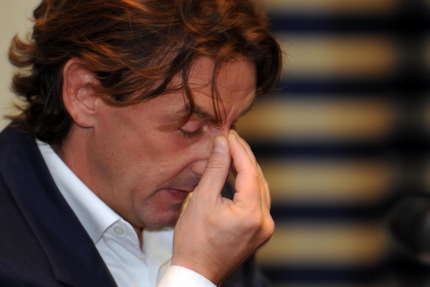 Conferenza stampa di Giuseppe Signori