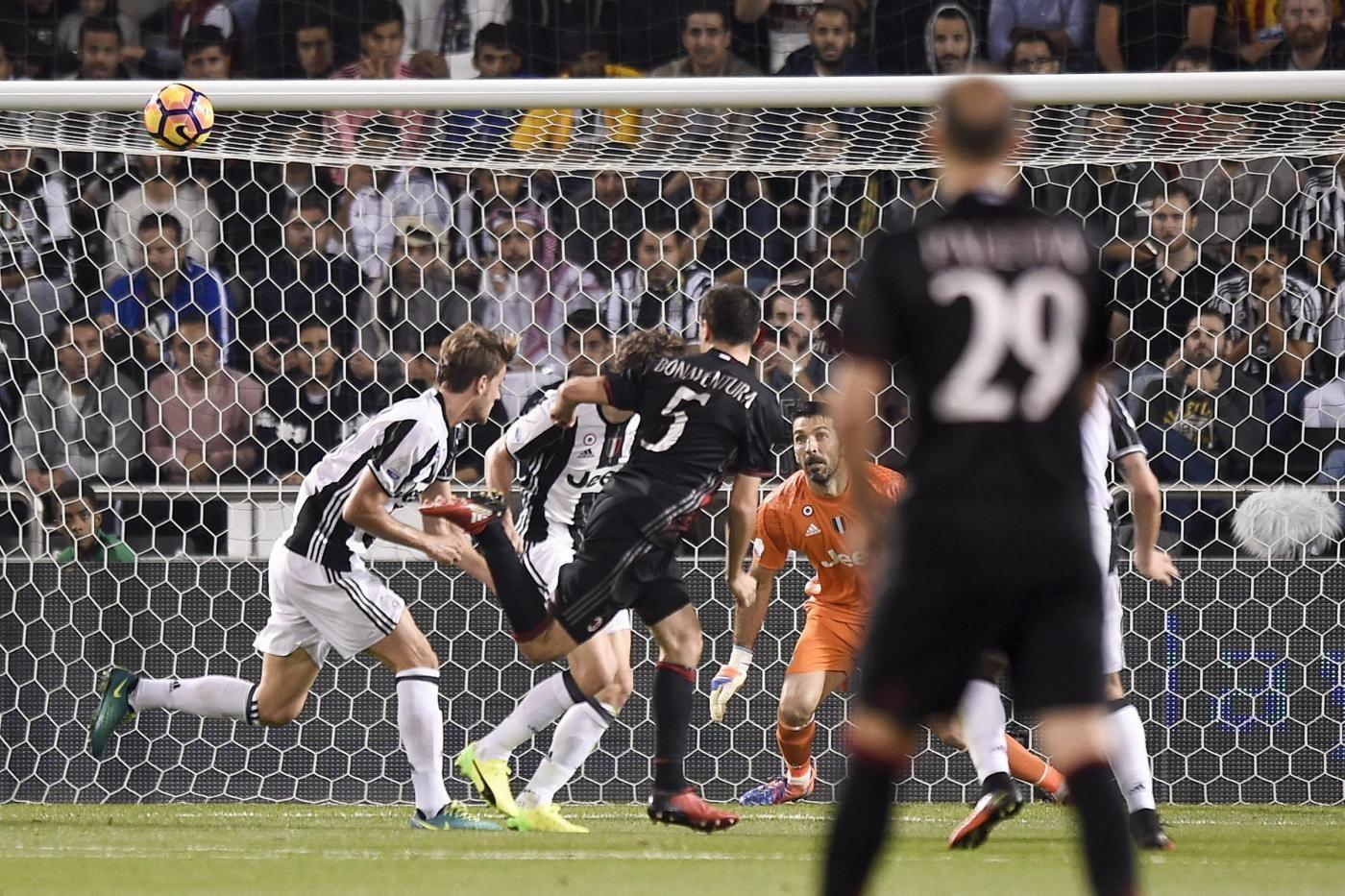 Supercoppa italiana 2016 Juventus Milan