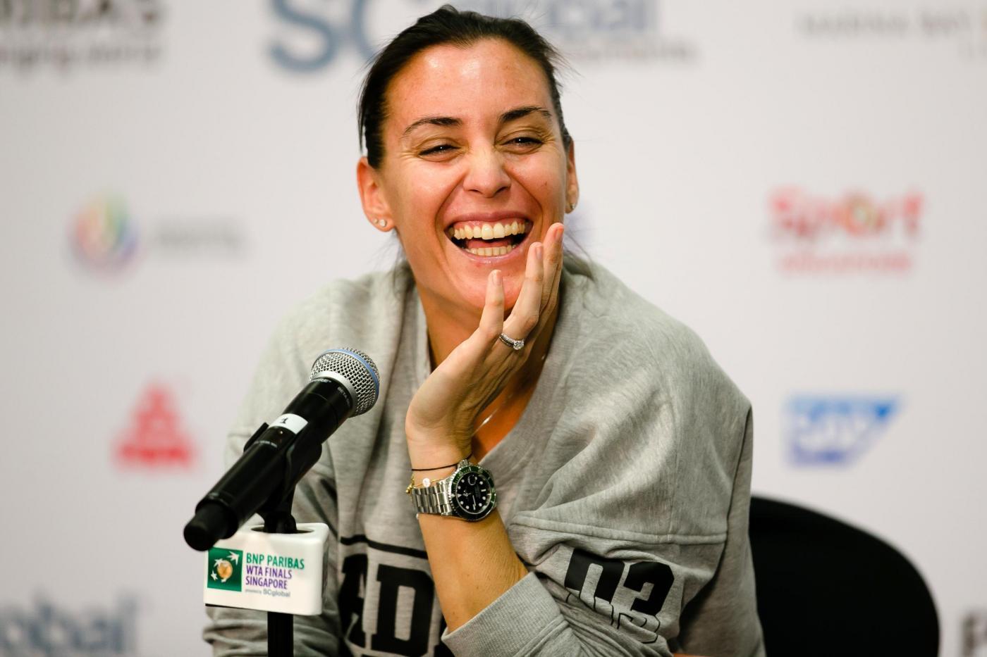 Masters, Pennetta chiude la carriera battuta da Maria Sharapova