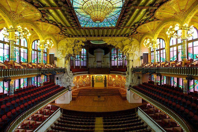 Palau_de_la_Música_Catalana, Barcellona