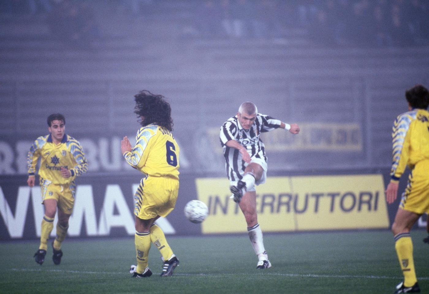 Juventus vs Parma Finale Supercoppa Italiana 1995