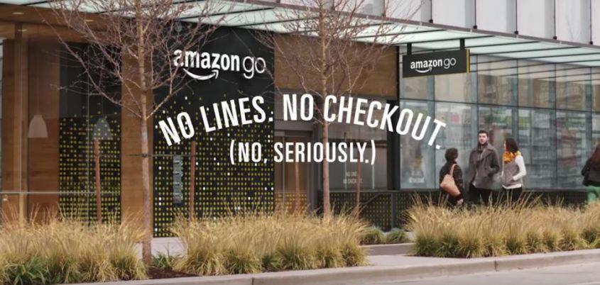 Amazon GO, il supermercato innovativo senza fila alle casse