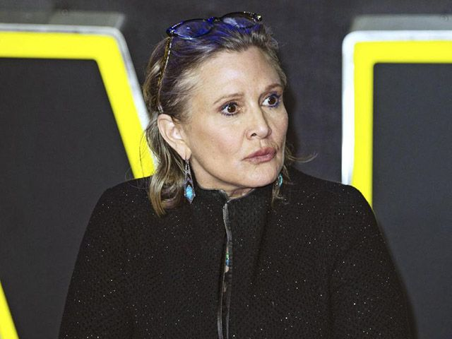 Carrie Fisher ricoverata