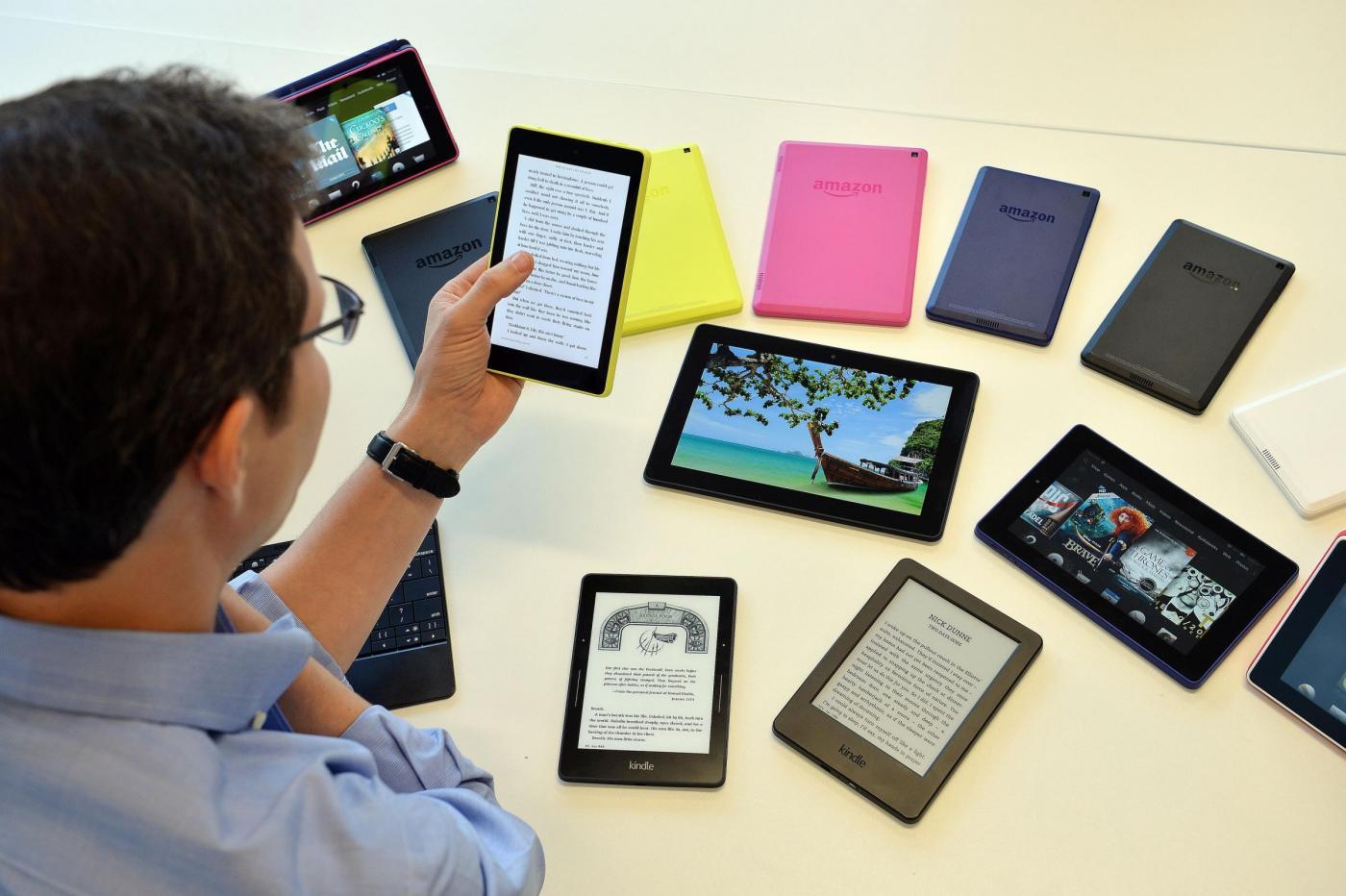 Ebook più venduti in Italia su Amazon: al primo posto La ragazza del treno
