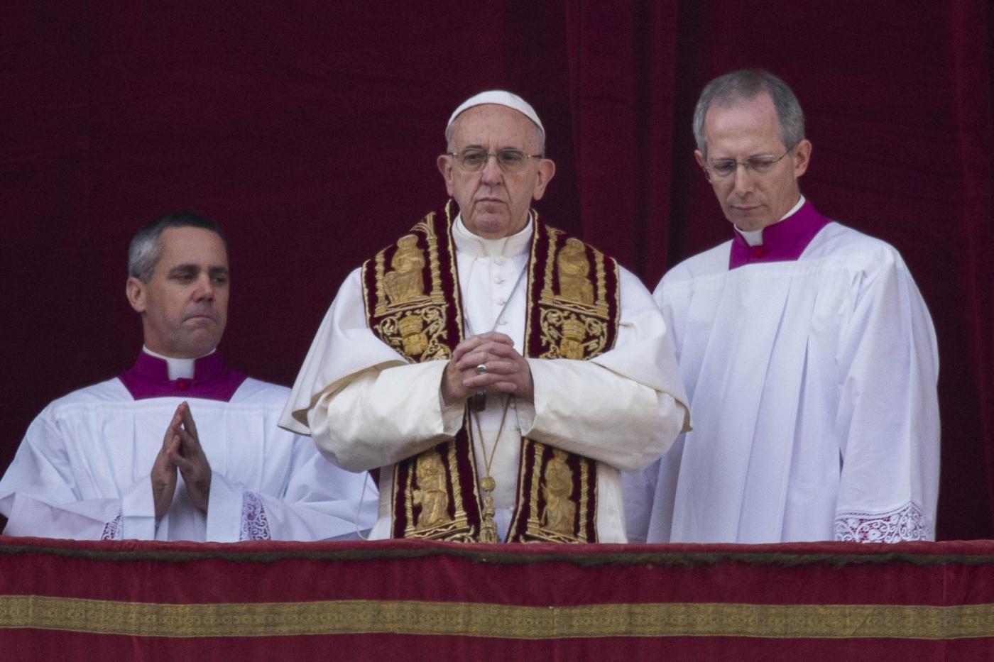Benedizione Urbi et Orbi di Papa Francesco