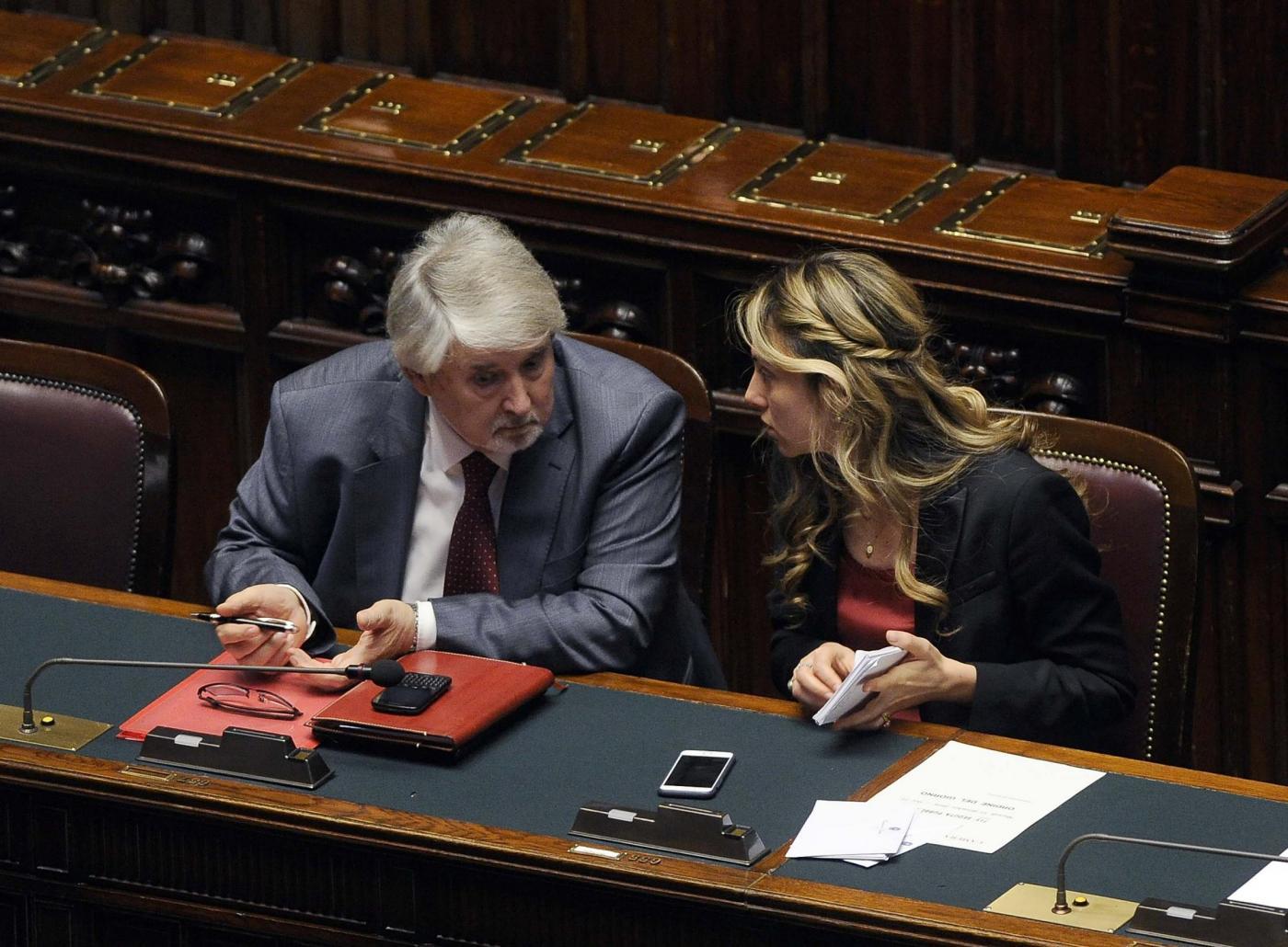 Camera dei Deputati. Voto di fiducia al Governo Gentiloni