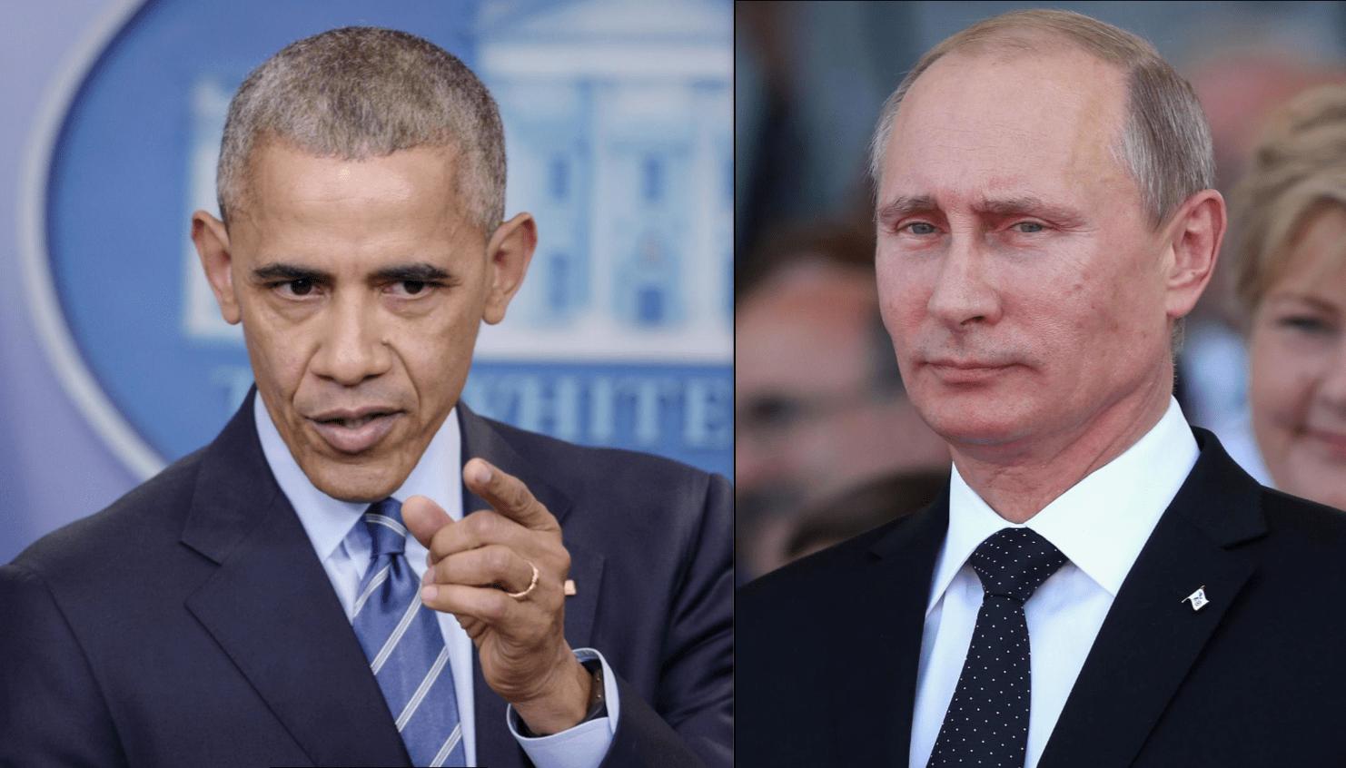 Usa-Russia: Obama espelle 35 diplomatici russi, Putin replica: 'Via da Mosca 35 diplomatici americani'