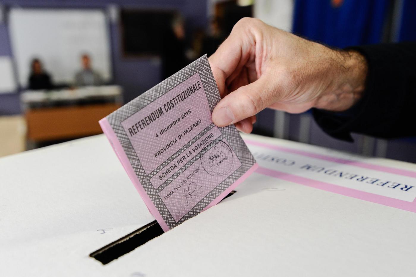 Referendum Costituzionale: a Palermo si Vota