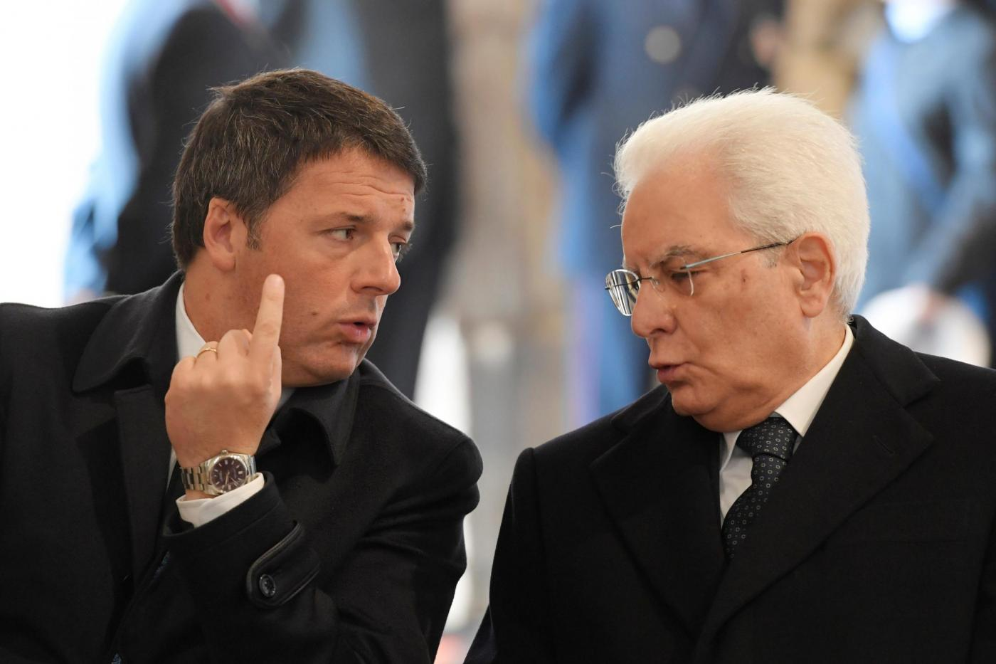Matteo Renzi dimissioni: Mattarella può rifiutarle?