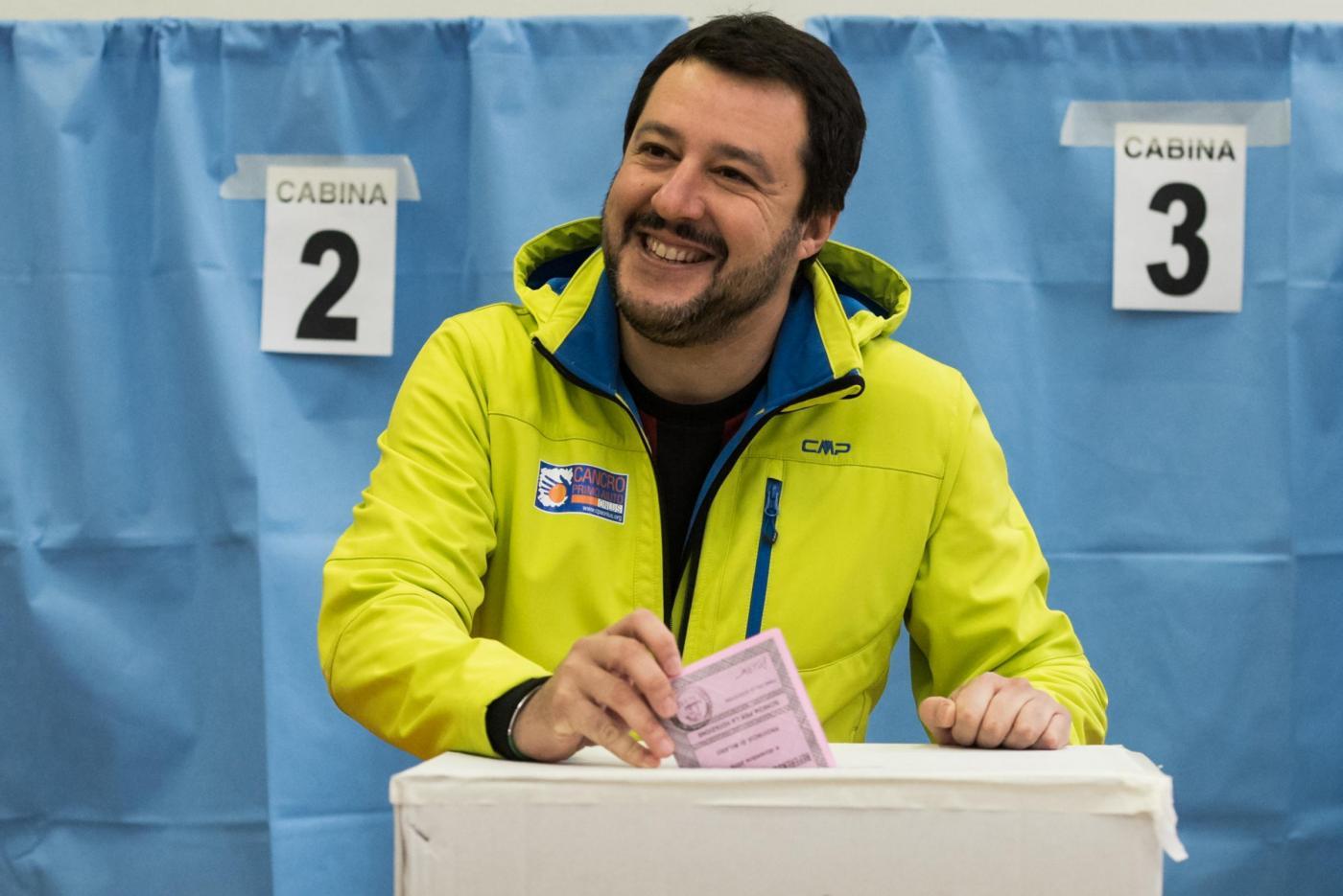 Referendum: Matteo Salvini al voto
