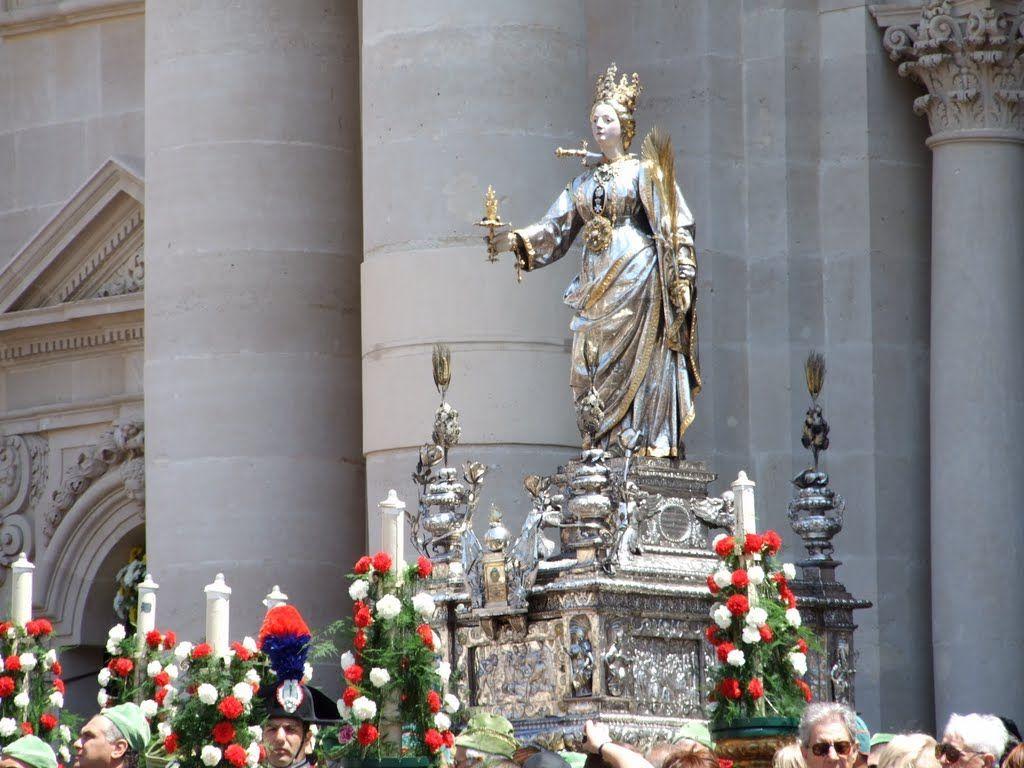 santa lucia, storia, origini e riti
