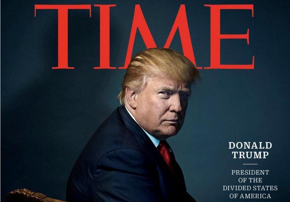 Donald Trump è la Persona dell'anno 2016 per Time