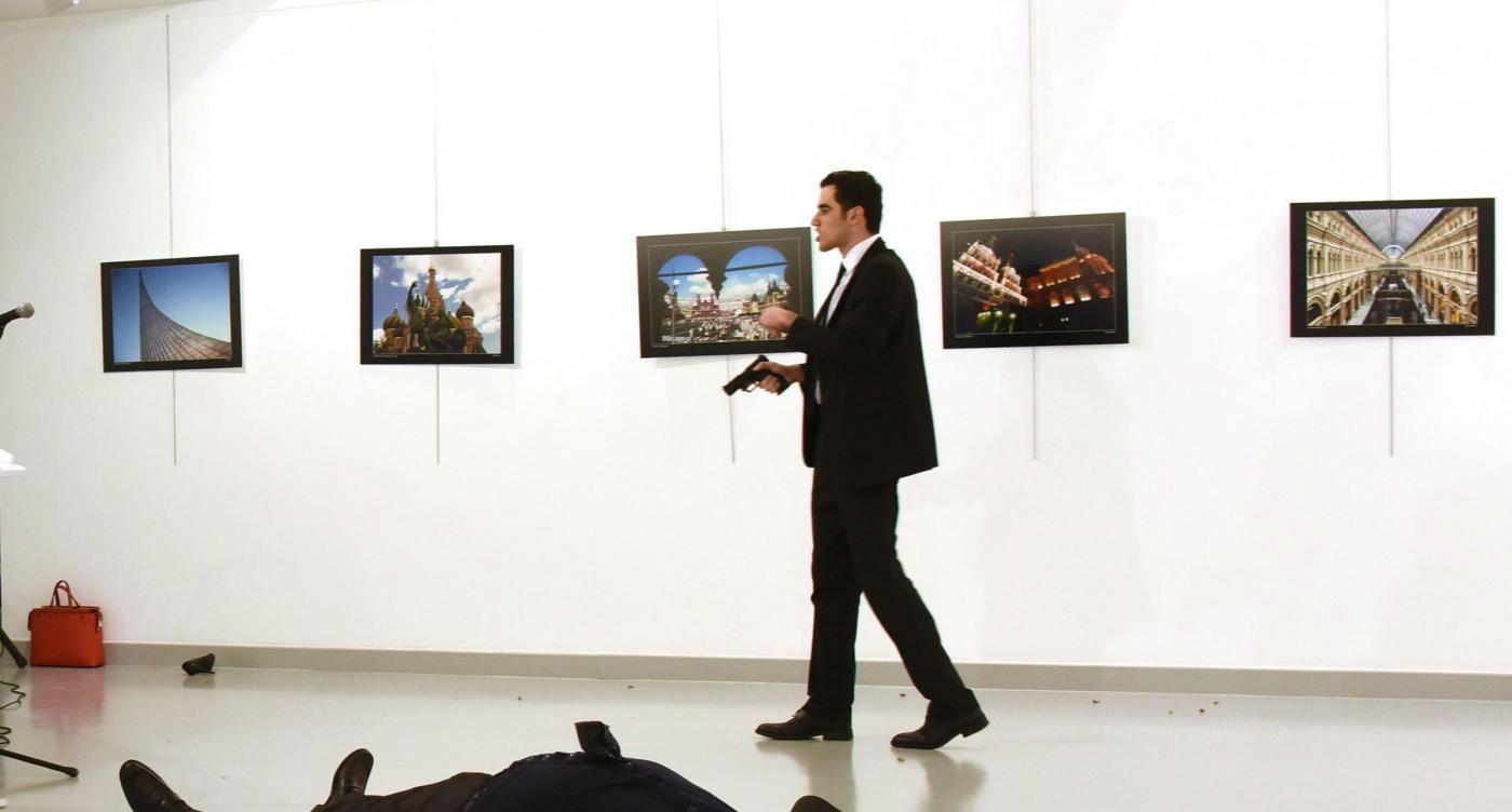 ucciso ambasciatore russo Andrey Karlov 3