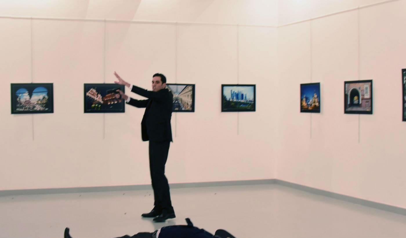 ucciso ambasciatore russo Andrey Karlov
