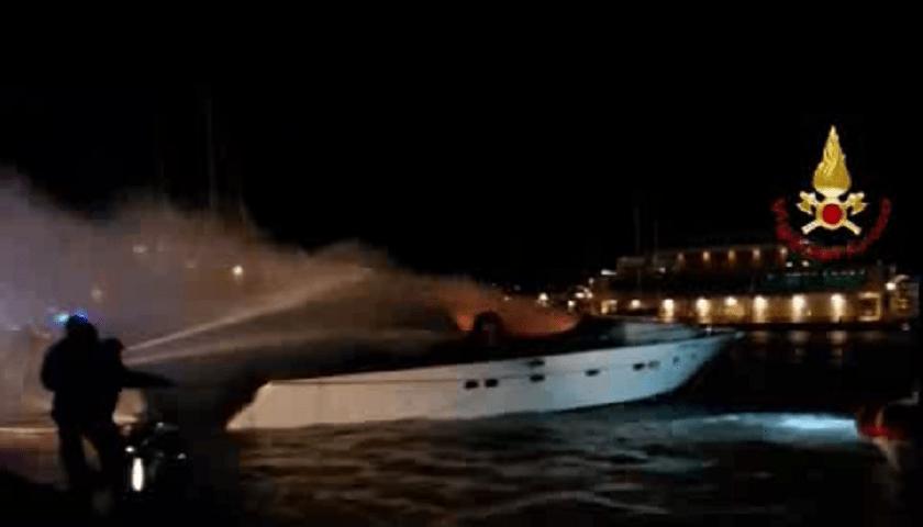 Savona, Yacht va in fiamme: tre morti a Loano