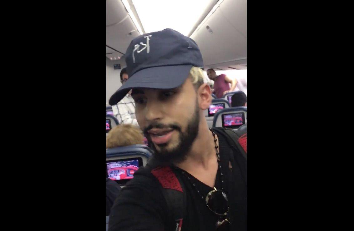 youtuber delta air line