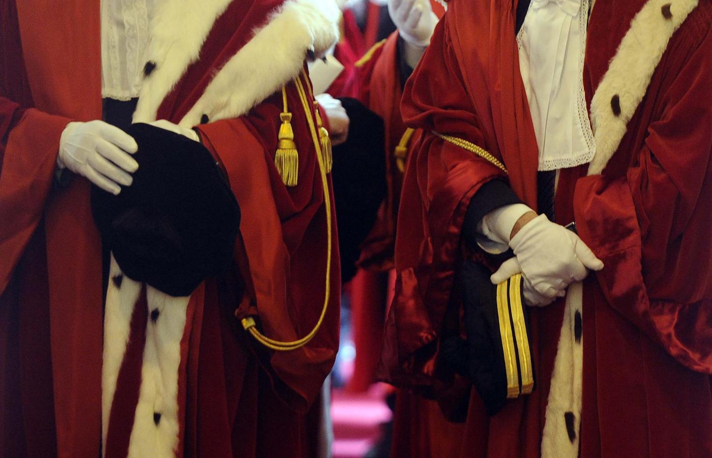 Anno Giudiziario, i magistrati: «Giustizia al collasso e infiltrazioni mafiose»
