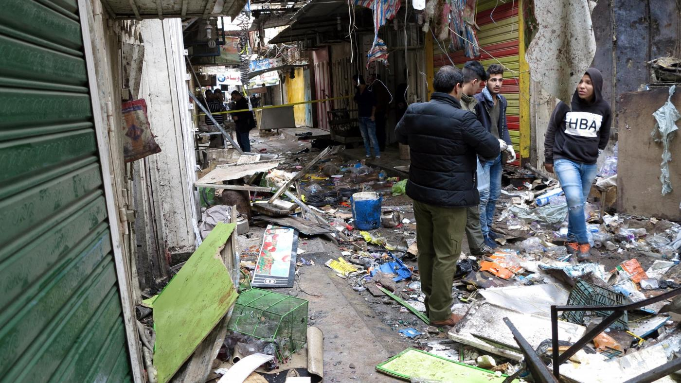 Iraq: esplosione in un mercato di Bagdad