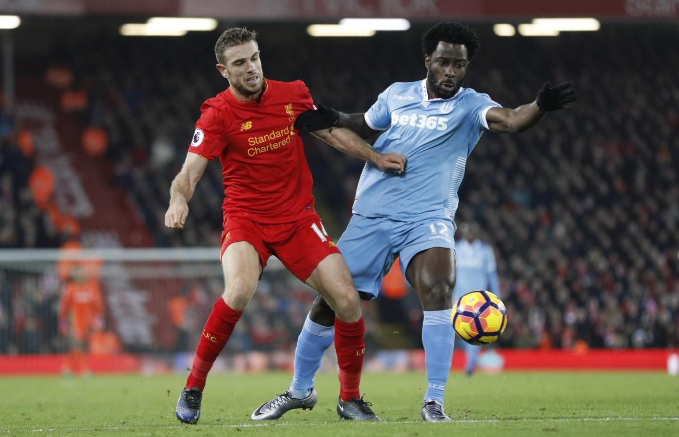Premier League:Liverpool v Stoke City