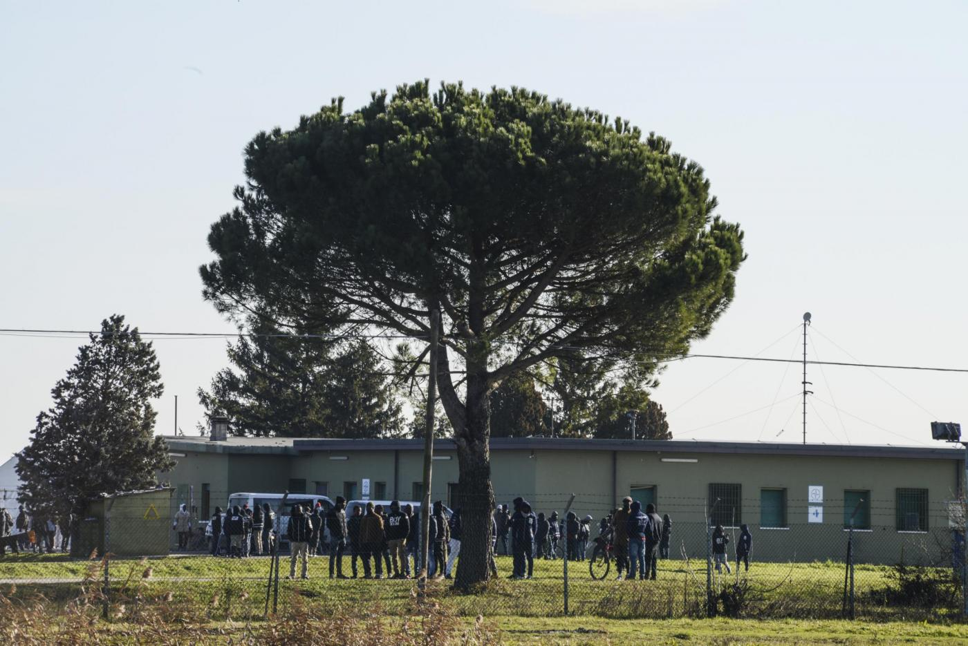 Cona il CPA dove è scoppiata la rivolta dei migranti