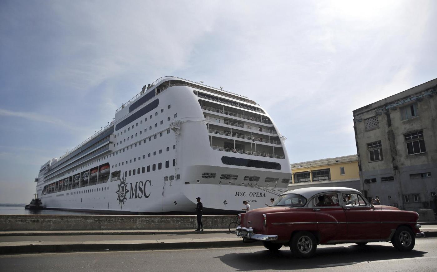 MSC Opera crociera a Cuba