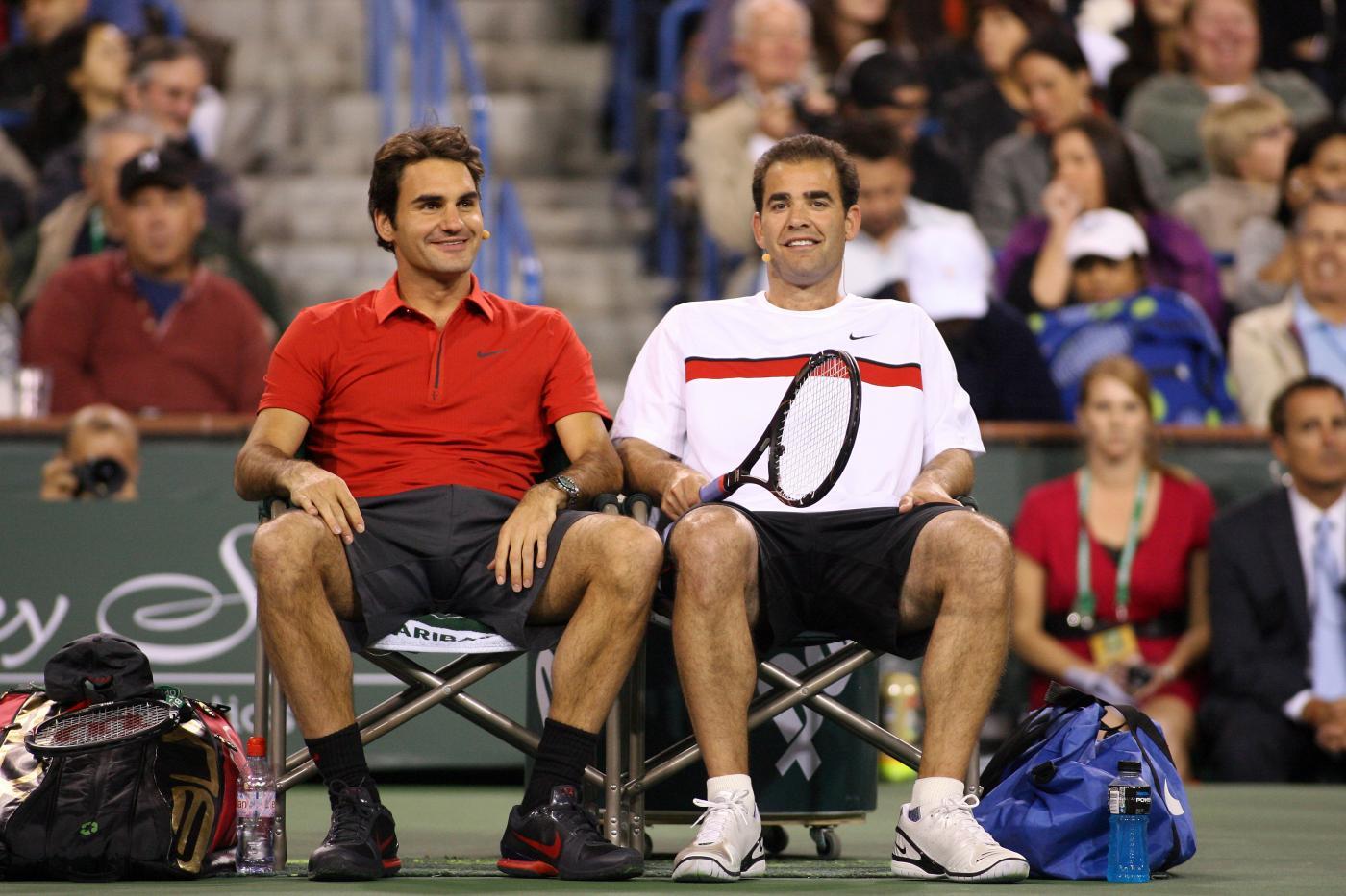 Federer Sampras