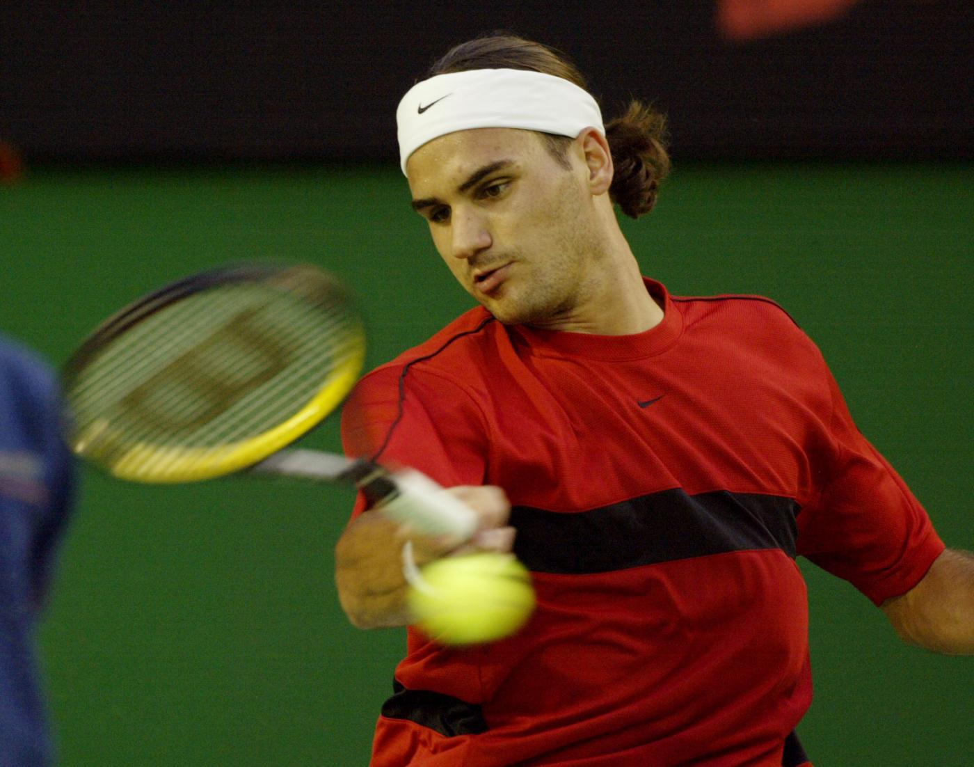 Federer giovane