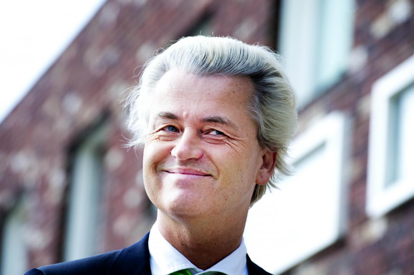 Europawahl Geert Wilders al voto in Olanda