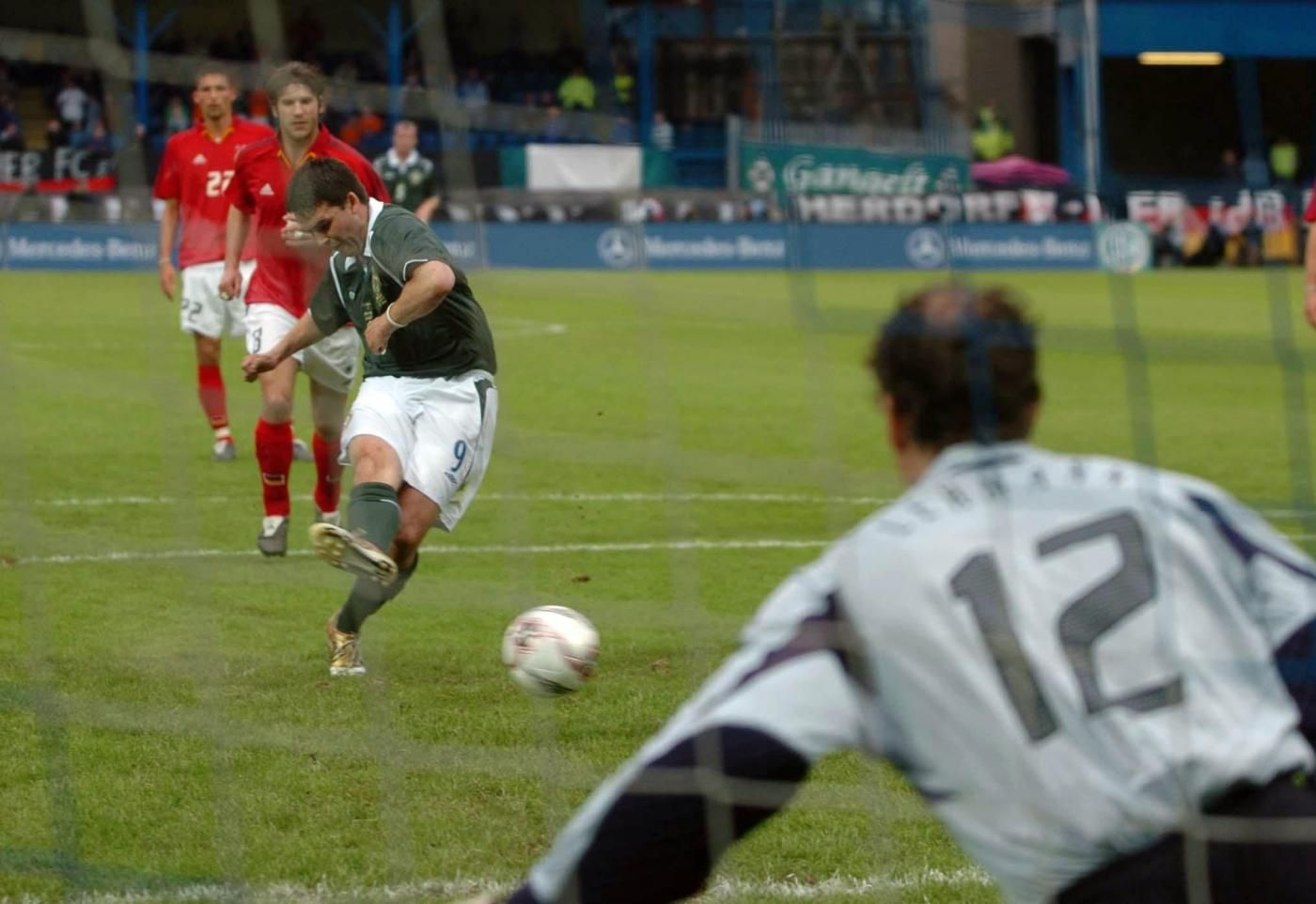 Soccer David Healey File Photo