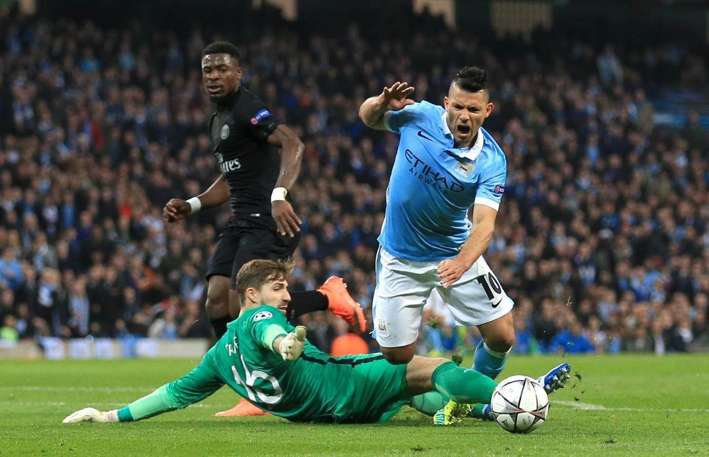 Manchester City v Paris Saint Germain UEFA Champions League